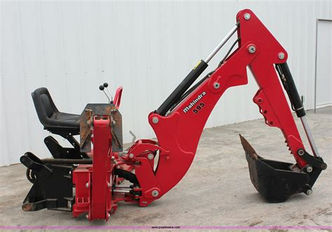mahindra backhoe attachment for sale mahindra 595 backhoe attachment item h5815 sold june