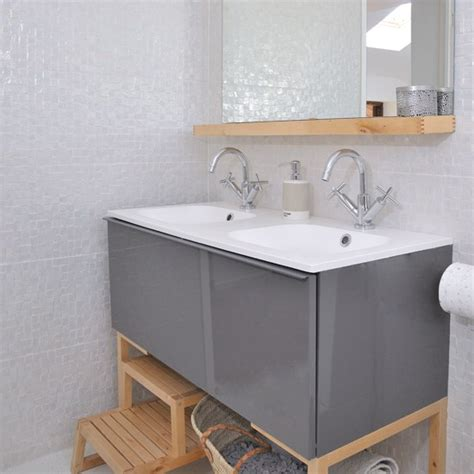 Modern White Bathroom With Vanity Unit Modern Decorating Grey Bathroom Vanity Units