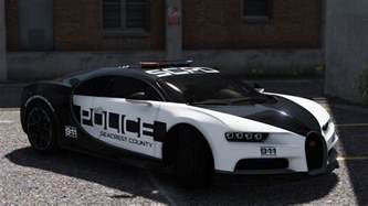 bugatti chiron pursuit police replace template gta5 mods
