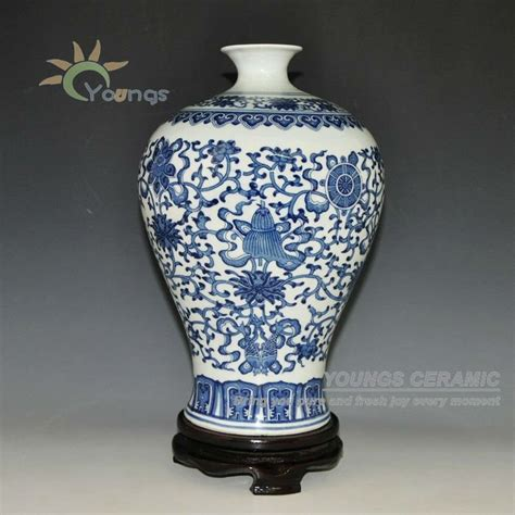 White Flower Vases Wholesale by Jingdezhen Antique Blue And White Ceramic Flower Vases For
