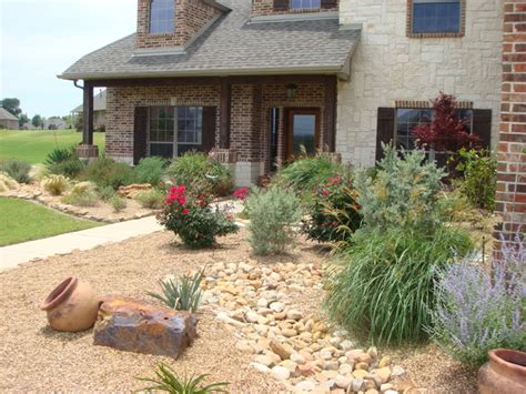 Landscaping Ideas Xeriscape Xeriscaping Traditional Landscape Dallas By