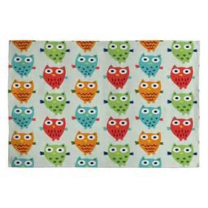 Owl Kitchen Rugs Deny Designs Bird Owl Rug Reviews Wayfair