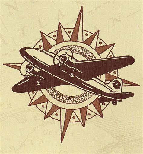 indy logo plane dieselpulp adventure chic pinterest