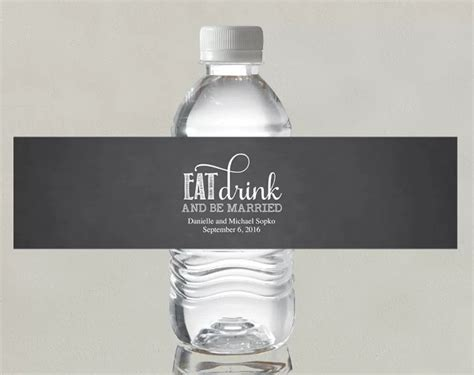 14 Wedding Water Bottle Label Templates Psd Word Pdf Free Premium Templates Wedding Water Bottle Labels Template Free