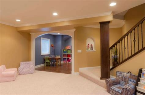 Coastal Living Home Plans basement design ideas for a child friendly place