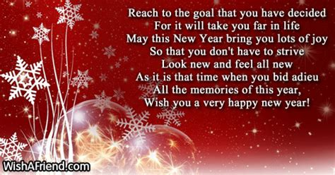 poem on new year new year poems