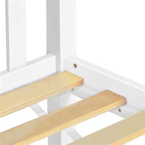 Timber Single Bed Frame Pine Wood Timber Slat Single Bed Frame In White Buy Furniture