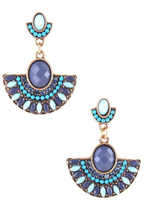 half circle acrylic dangle earrings