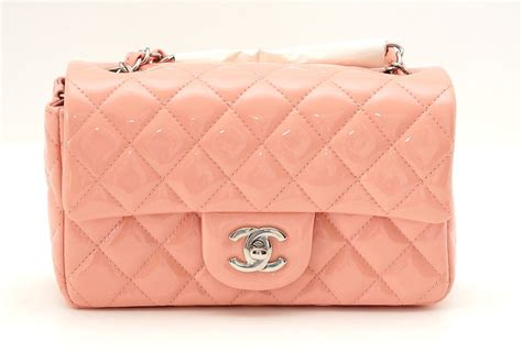2 Die 4 Chanel Classic Flap Bag by Chanel Classic Flap Mini Bag Cruise 2013 Pink Patent
