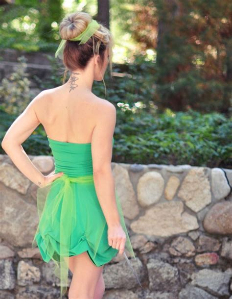 Handmade Tinkerbell Costume - image gallery tinkerbell costume