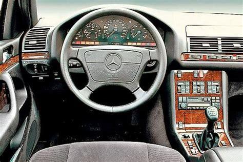 s klasse innen gebrauchtwagentest mercedes s klasse w140 bilder