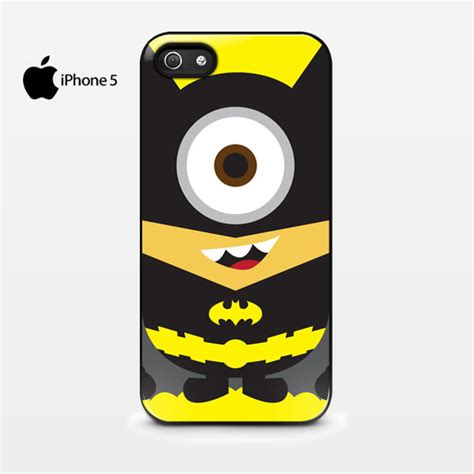 Despicable Me Batman Minion X3014 Iphone 7 kawaii despicable me minion batman avenger iphone 5 5s cover cases covers skins