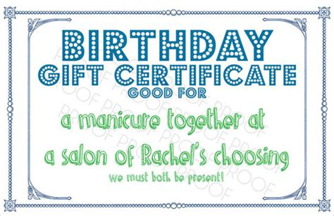 sle birthday gift certificate template 7 download