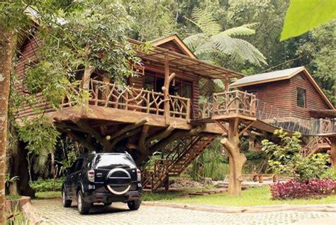 desain rumah kayu  indonesia gontoh