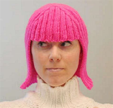 hair knitting patterns now wigs get the touch of the wool