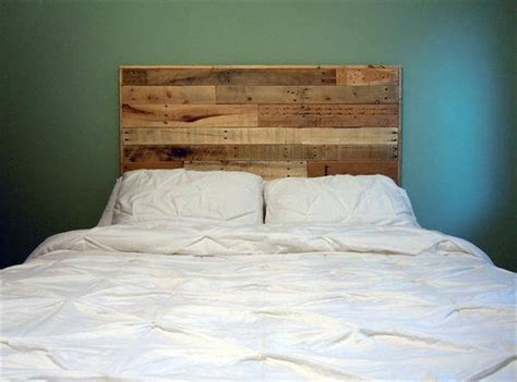 queen headboard diy diy queen size pallet headboard 101 pallets