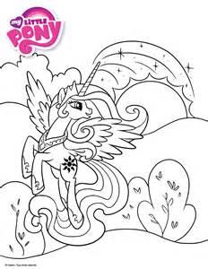 Coloriage My Little Pony Princesse Cadance L L L L L