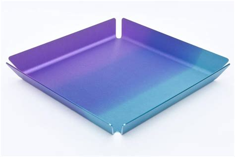 limited edition anodized aluminum serving bar tray for sale at 1stdibs