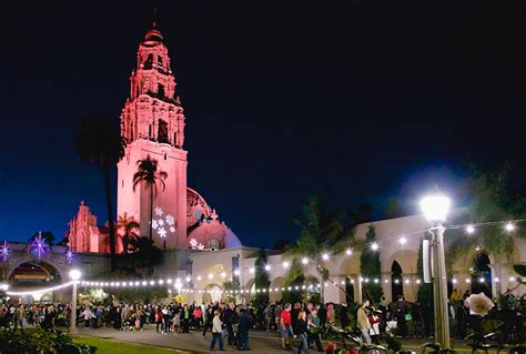 balboa park tree lighting 2017 guide top 40 san diego events for december 2016