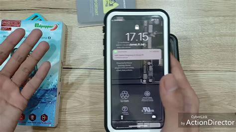 redpepper lifeproof iphone x ip68 waterproof tahan air