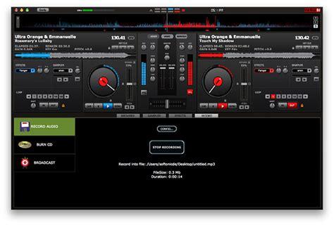 come usare console dj dj mac