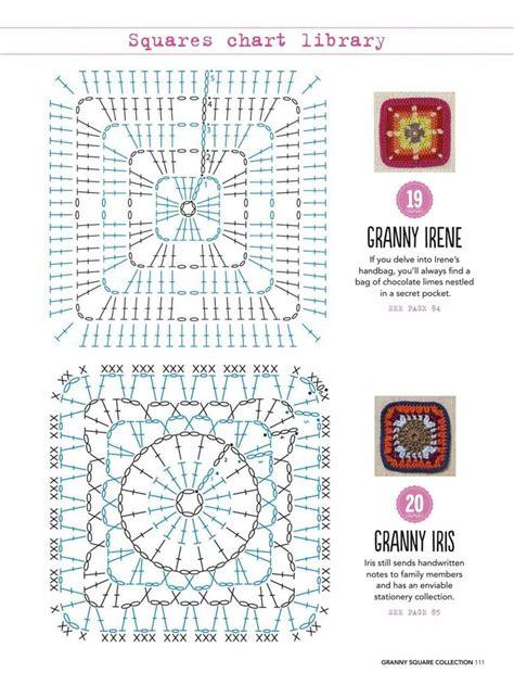 crochet diagram for beginners 619 best crochet afghan squares images on