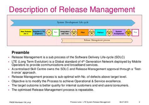 6 sigma LTE release management process improvement