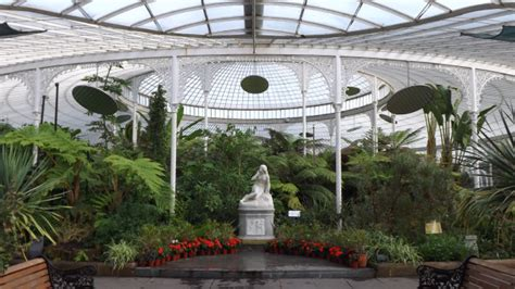 Glasgow Botanical Gardens Kibble Palace Glasgow Scotland
