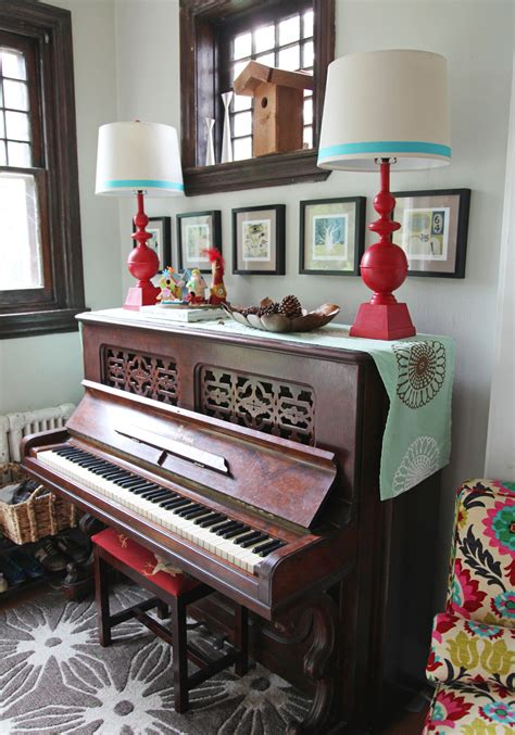 Piano Decor by Dining Room Stately Kitsch