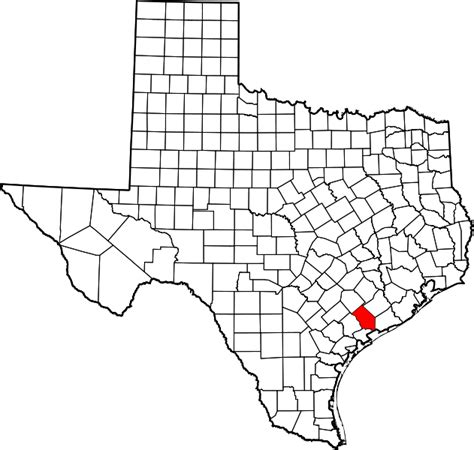 jackson county texas map file map of texas highlighting jackson county svg wikimedia commons