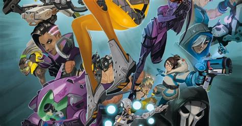 overwatch anthology volume 1 yet another comics top 50 may 26 2017