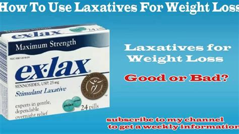 weight loss laxatives how to use laxatives for weight loss