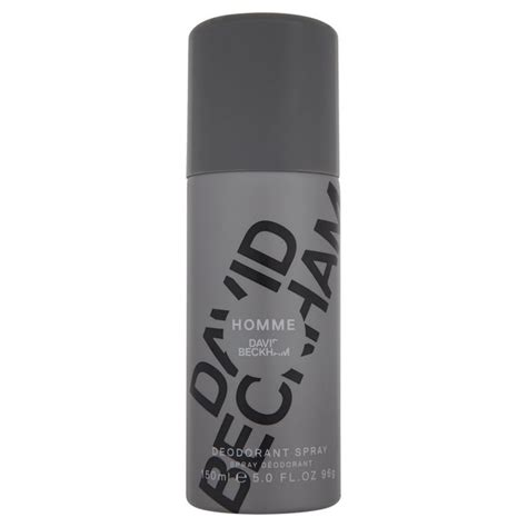 Spray It Like Beckham by Morrisons David Beckham Homme Deodorant Spray 150ml