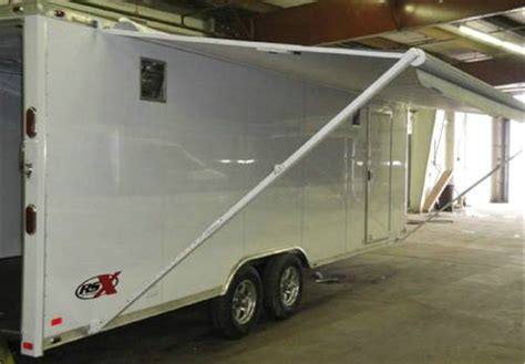 car trailer awnings awnings advantage trailer