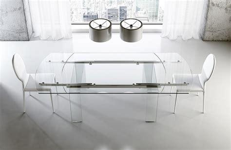 tavolo di vetro tavoli piano in vetro gambe protagoniste cose di casa