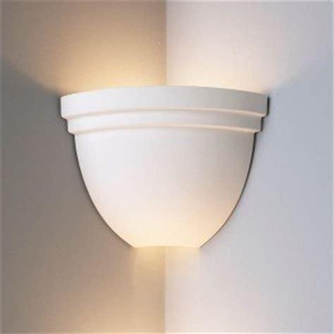 Corner Light Fixture 8 5 Inch Corner Bowl Light W Edge Ceramic Wall Sconce Indoor Lighting Fixture