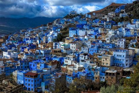 the blue city morocco the blue city of chefchaouen in morocco oc photorator