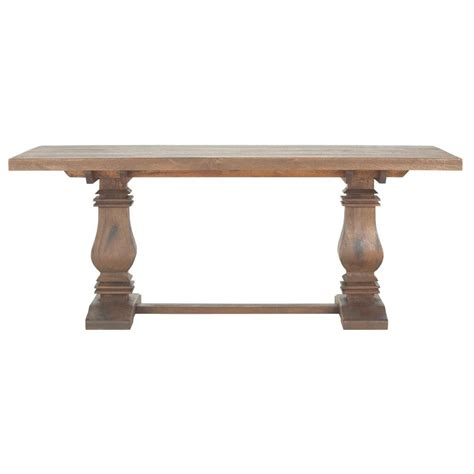 Home Decorators Table by Home Decorators Collection Aldridge Antique Walnut Dining