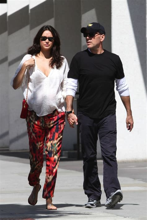 Is Bruce Willis Going Out With by Bruce Willis Out With Heming Growing
