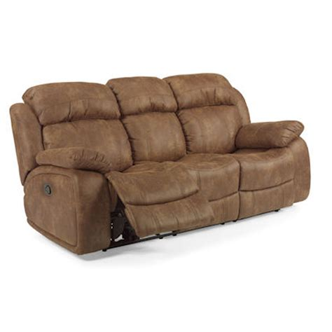 flexsteel 1408 62 como reclining sofa discount