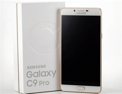 samsung galaxy c9 pro launched in china price specs features