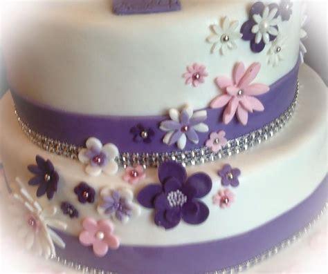 Torten Dekorieren Fondant by Fondant Torte Blumen Dekoration Fondant Cake Flower