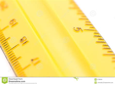printable yellow ruler yellow ruler royalty free stock images image 2738569