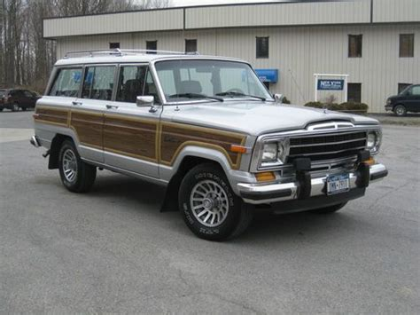 1989 Jeep Wagoneer Mpg Buy Used 1989 Jeep Grand Wagoneer Low All Original