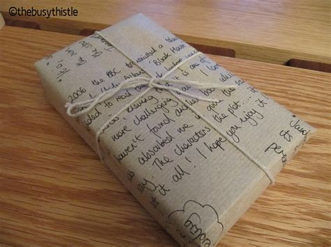 a gift for gifting books day 4 a novel gift wrap idea thebusythistle