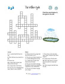 5th grade science worksheets crossword puzzles lab