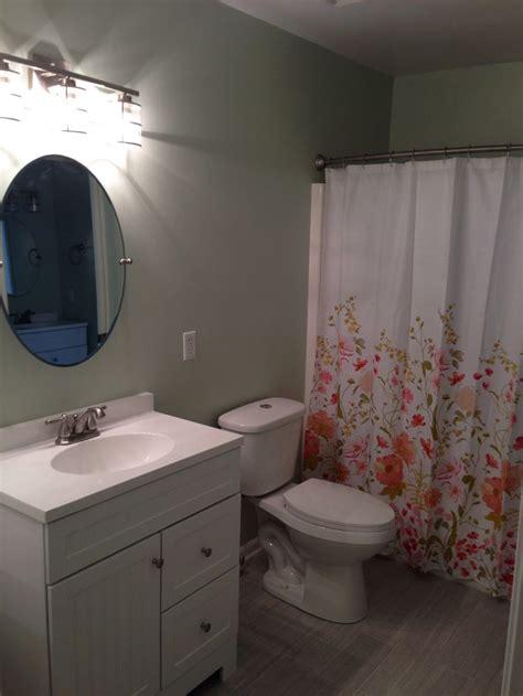 bathroom re do paint hollingsworth green from benjamin toilet vanity fixtures from