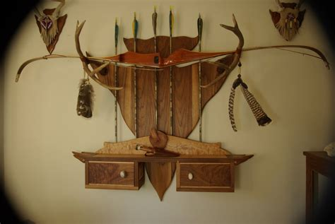 Recurve Bow Wall Rack by Studio Furniture Rack How To Make A Bow Rack Out Of