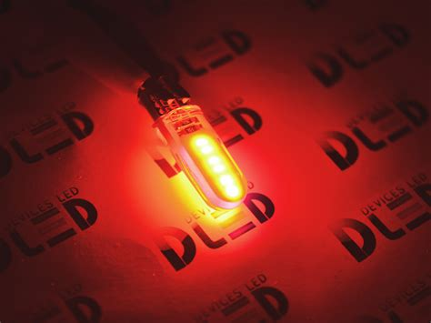 Lu Mobil Led T10 W5w 18 Smd 3014 2pcs Rc автомобильная светодиодная лампа t10 w5w 1 cob pcb красная