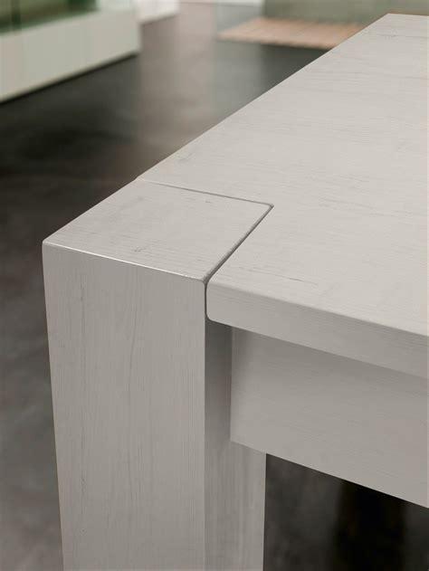 tavoli legno bianco lexton tavolo allungabile in legno massello invecchiato